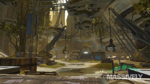Star Wars: The Old Republic - the view from Taris