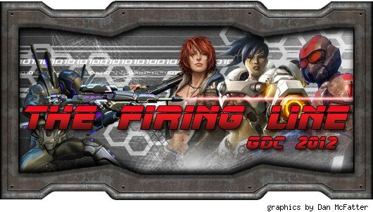 The Firing Line - GDC 2012 header