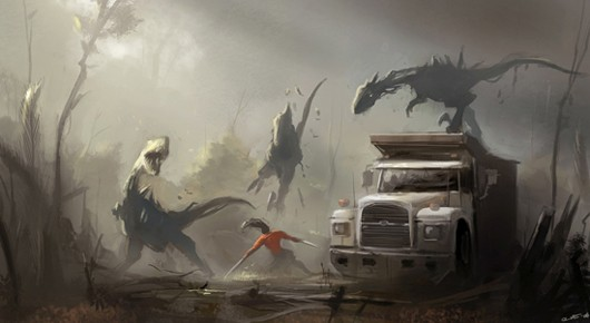 The Secret World - creature concept art