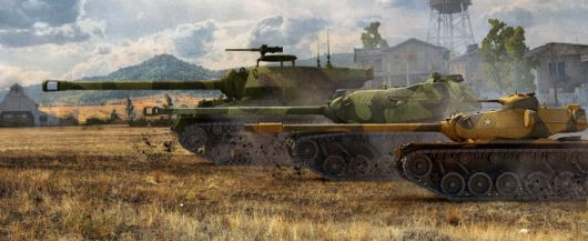 Screenshot -- World of Tanks