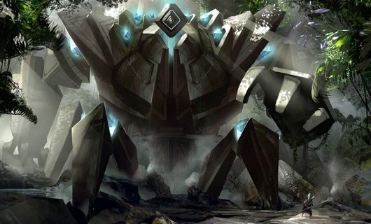 Guild Wars 2 - golem boss concept