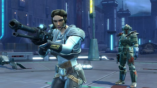 Star Wars: The Old Republic - agent and bounty hunter