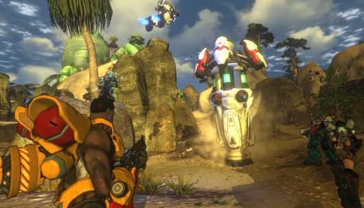I do actually like my character in Firefall, though.  Aside from the random mangled Spanish.
