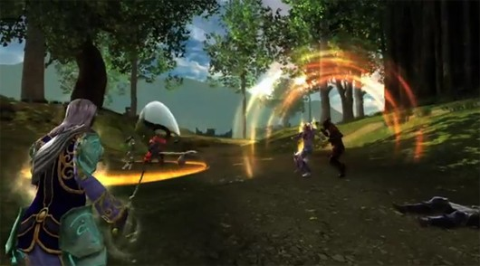 Dungeons and Dragons Online - Menace of the Underdark combat
