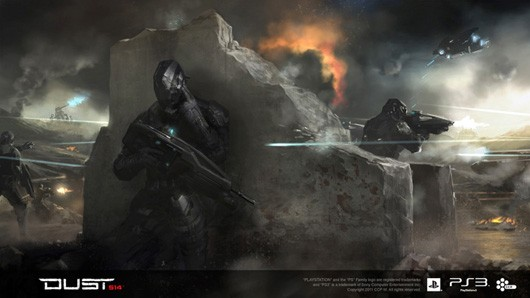 DUST 514 - merc battlefield concept art