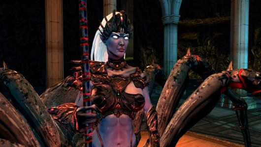 Dungeons and Dragons Online - spider queen