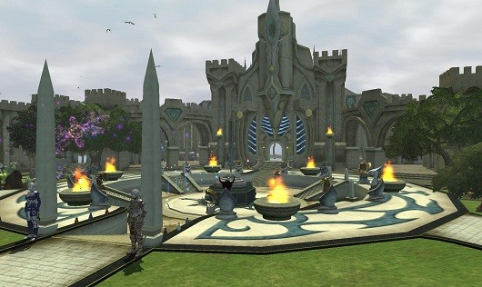 Guild Hall in EQII