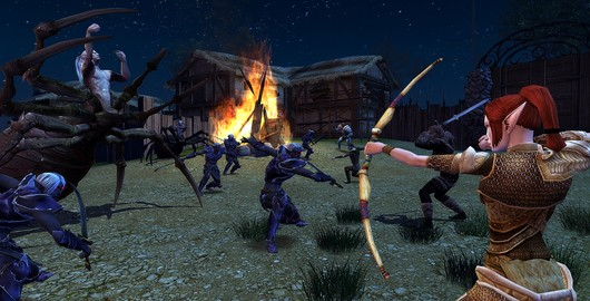 Dungeons and Dragons Online - Eveningstar under siege