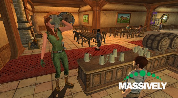 Lord of the Rings Online - Inn League drinking