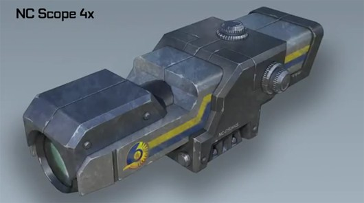 PlanetSide 2 - NC Scope 4X