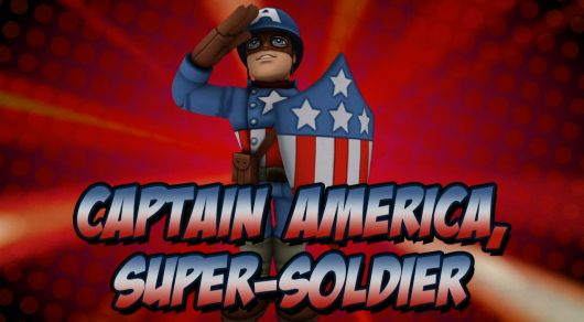 Captain America's new WWII-era costume