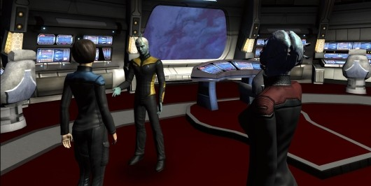 how to play star trek vr classic