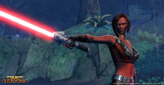 Star Wars: The Old Republic - sith chick