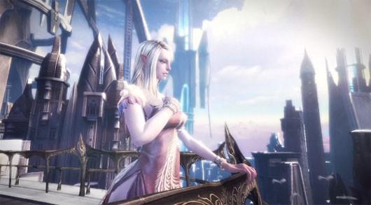 TERA - launch cinematic high elf girl