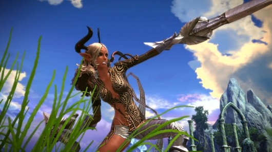 TERA - Castanic warrior girl