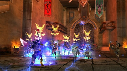 Maestia: Rise of Keledus - battle screenshot