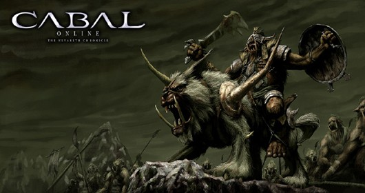 Cabal Online - dude with a bear lion thing