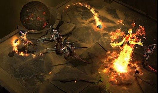 Diablo III gameplay screenshot