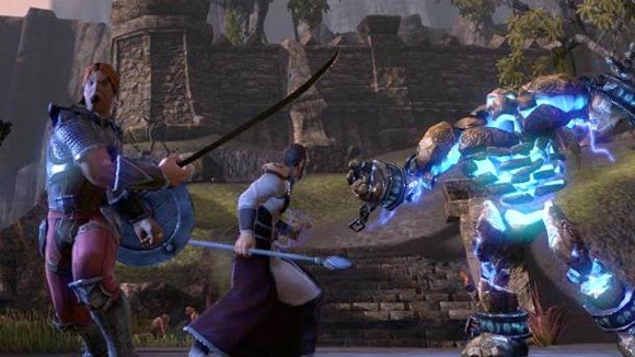 The Elder Scrolls Online - combat screenshot
