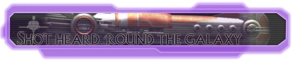Hyperspace Beacon: Shot heard 'round the galaxy