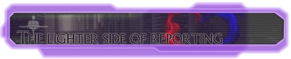 Hyperspace Beacon: The lighter side of reporting