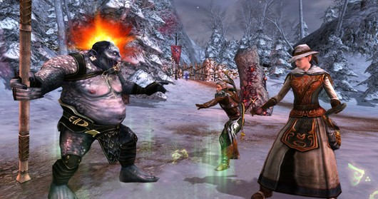 Lord of the Rings Online - Update 7 skirmish