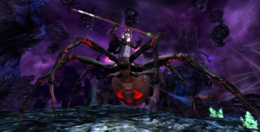 Dungeons and Dragons Online - Lolth in Demonweb
