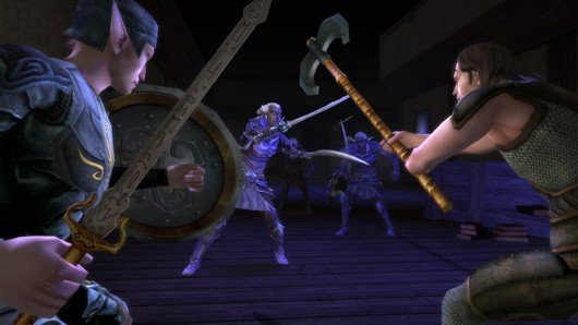 Dungeons and Dragons Online - when dark elves attack