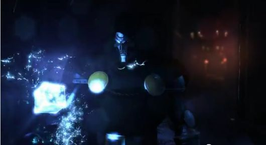 Screencap -- Marvel Heroes announcement trailer
