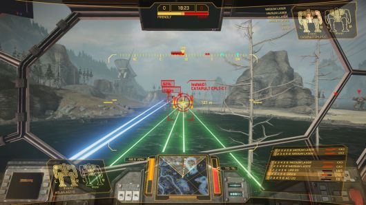 Screenshot -- MechWarrior Online