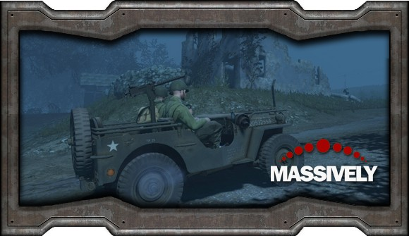 Heroes & Generals - Jeep at night