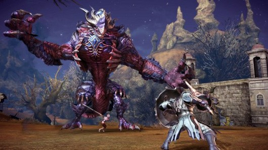 TERA - big-ass monster fighting