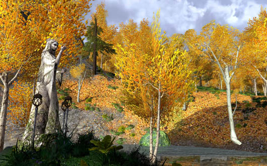 Lord of the Rings Online - landscape screenshot