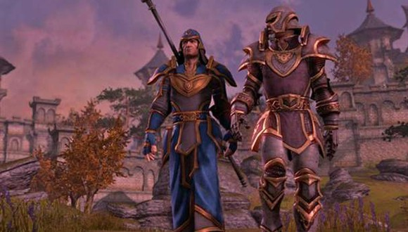 The Elder Scrolls Online - character duo