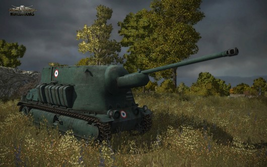 World of Tanks - French SPG