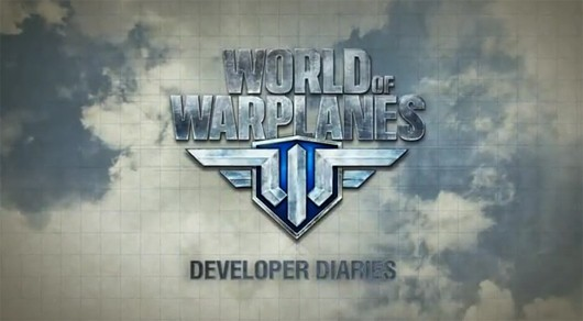 World of Warplanes - dev diary title screen