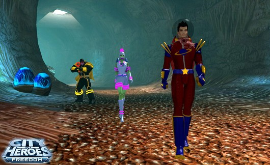 Screenshot -- City of Heroes
