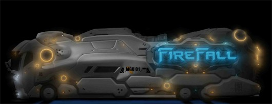 Firefall - The Mobile Gaming Unit, thankfully not on your phone