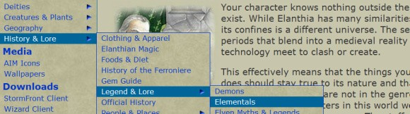 Gemstone IV website screenshot