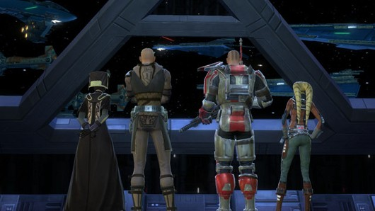 EA boss SWTOR 'absolutely going to embrace' free model