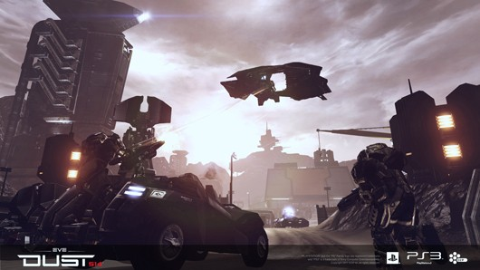 DUST 514 - Vehicular combat