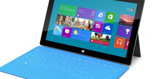 Microsoft Surface screenshot