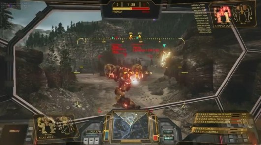 MechWarrior Online Video Developer Diary #1