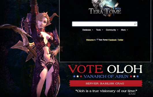 Basilisk Crag Vanarchy candidate Oloh talks TERA and politics