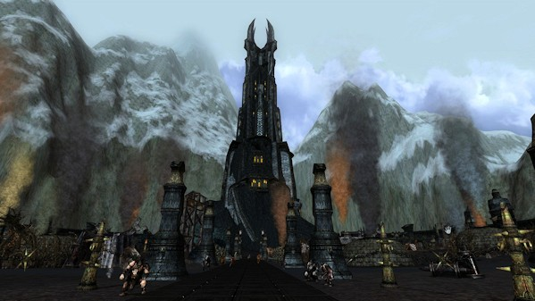 LotRO - Orthanc, after - by Drannos