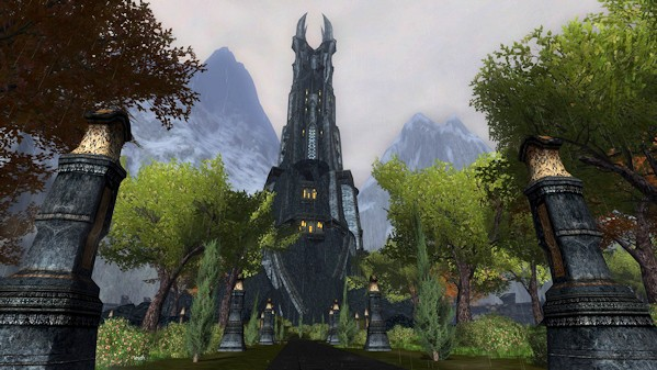 LotRO - Orthanc, before - by Drannos