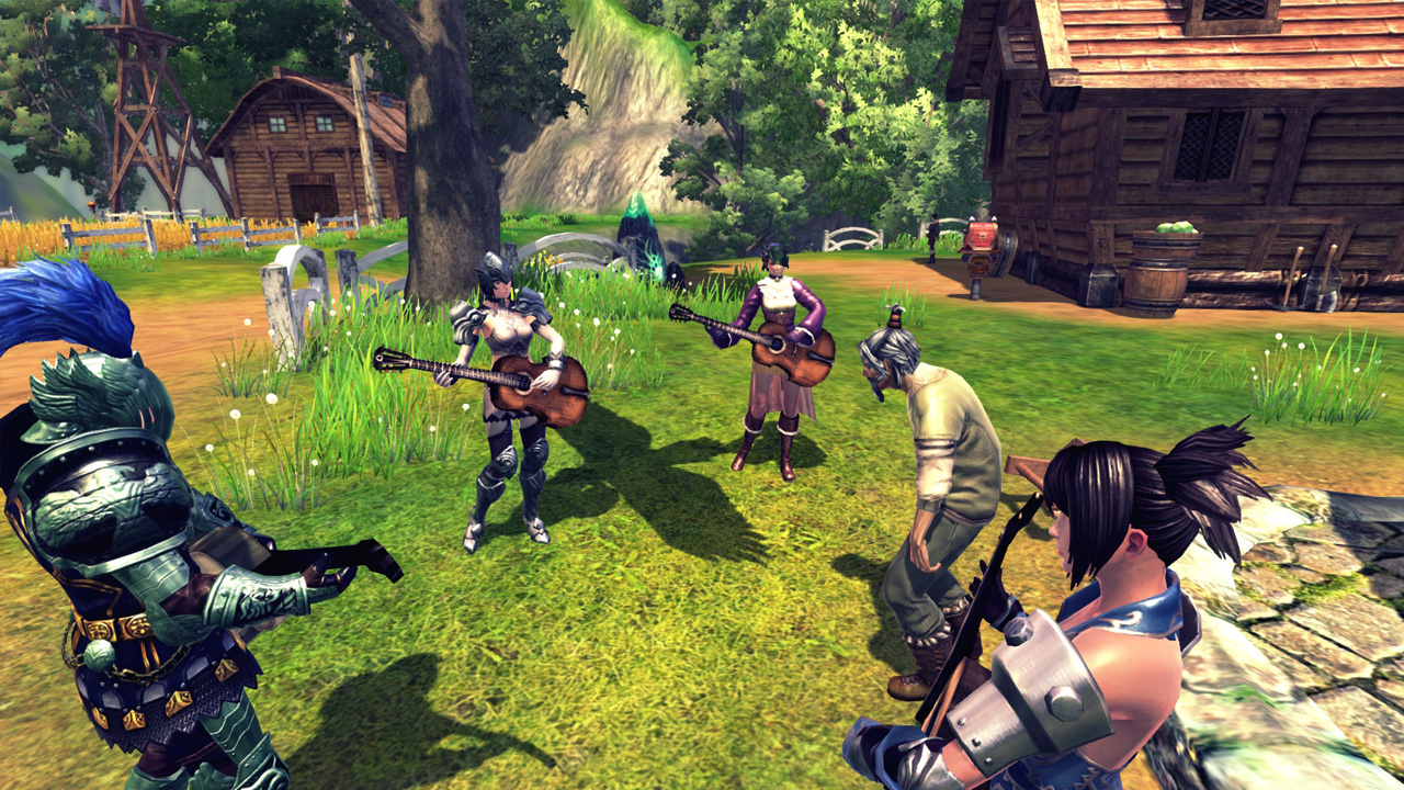 E3 2012 Perfect World's Raiderz isn't Monster Hunter Online