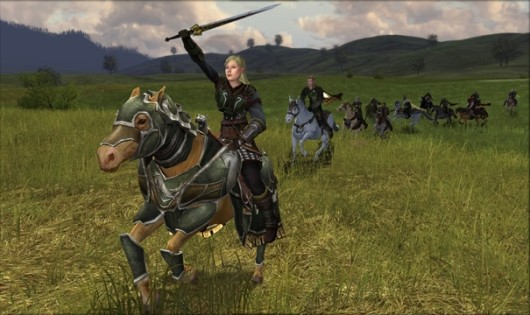 LotRO Riders of Rohan website, prepurchase available