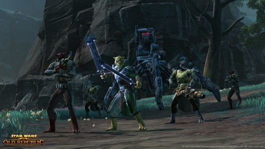Star Wars: The Old Republic - Bounty hunters, we don't need their scum