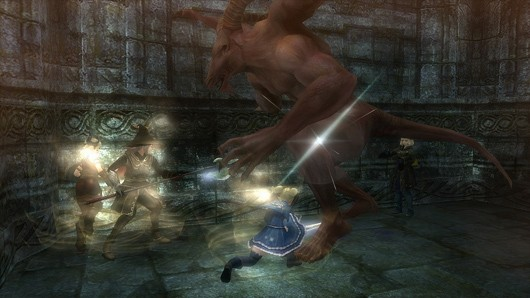 Screenshot -- Wizardry Online